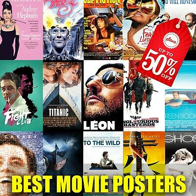 Best Movie Poster Wall Art Home Decor High Quality Print Ornament Cinema Poster • 3.32£