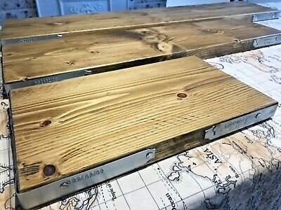 Scaffold Boards With End Bands, Finished And Sanded, Rustic Shelves Table Desk  • 16£