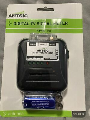 Antsig Digital TV Signal Meter New In Packet Signal Strength • 12.99£