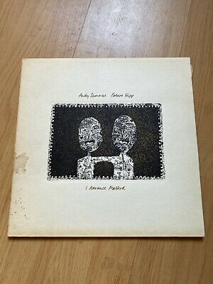 £5.99 • Buy Andy Summers & Robert Fripp 'I Advance Masked' LP