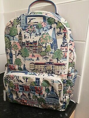 Brand New With Tags Cath Kidston Pocket Backpack Rucksack London View Landmarks • 49.99£