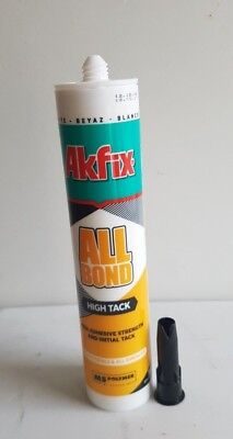 ALLBOND MS HIGH TACK – For Wet And Underwater Adhesive & Sealant 290 Ml • 10.99£