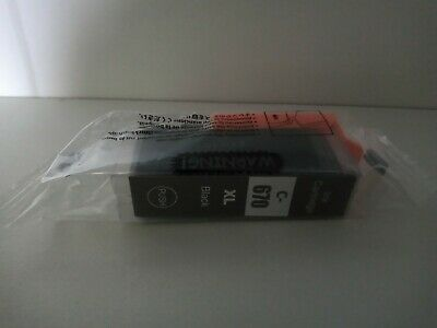 AU5 • Buy Compatible Ink Cartridge Canon PGI 670 XL For MG5760 MG5765 MG6060 7760