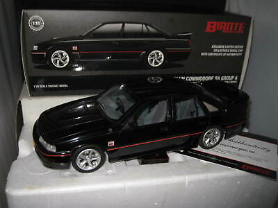 AU375 • Buy Biante 1/18 Holden Vn Commodore Ss Group A Black Tooheys 1000 Ex Display Model