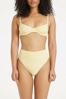 AU65 • Buy Zulu And Zephyr Signature High Waisted Brief Lemon Size 12 SOLD OUT