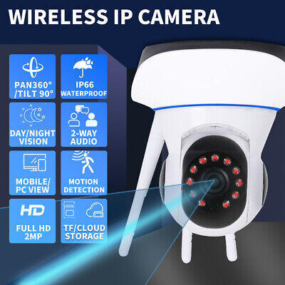 AU39.99 • Buy Security Camera System Wireless CCTV 1080P HD Indoor Home Baby Pet Wifi Monitor