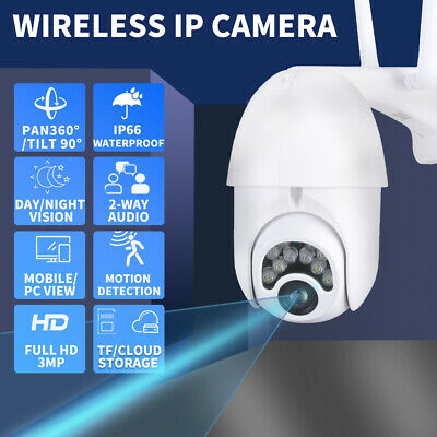 AU52.99 • Buy Security Camera  Wireless System CCTV 1080P Outdoor Home Waterproof Night Vision