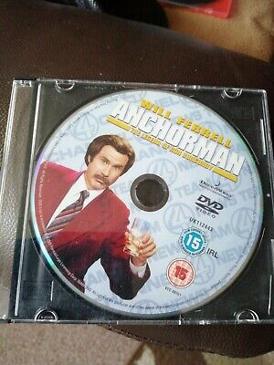 Anchorman - DVD ONLY • 0.99£