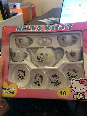 Hello Kitty Toy Pocelain Tea Set Bnib  • 3.20£