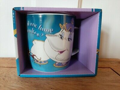 Disney Beauty And The Beast Mrs Potts And Chip Mug Brand New • 9.95£