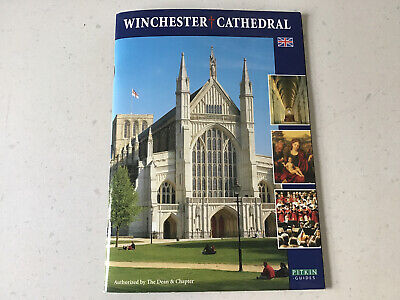 Winchester Cathedral Guide Tourist Visitor Brochure Leaflet ISBN 0-85372-875-5 • 0.99£
