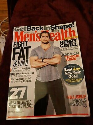 Mens Health Magazine Jan/Feb 2020 • 2.10£