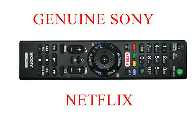 AU19.99 • Buy GENUINE SONY REMOTE CONTROL FOR ALL SONY TV NETFLIX Bra