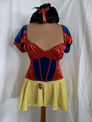 Sexy Short Snow White Dress With Wig - Size Small - Fancy Dress Cosplay Disney • 14£