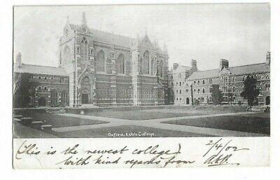 Keeble College, Oxford, Postcard.  • 2£