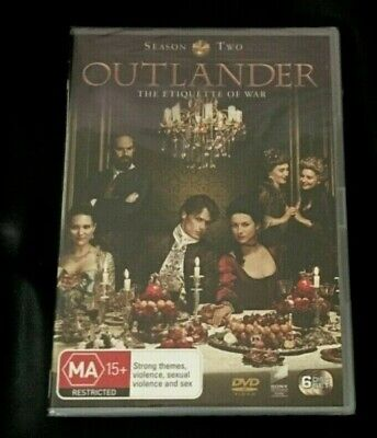 AU12 • Buy Outlander : Season 2 (DVD, 2016, 6-Disc Set)Brand New Sealed In Plastic Region 4