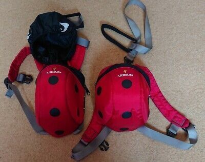 Two Little Life Ladybird Toddler Backpacks With Reins, TWINS • 6£