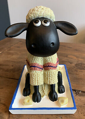 Wallace And Gromit Shaun The Sheep Money Box With Stopper • 9.99£