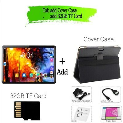 AU127.96 • Buy 10 Inch Tablet PC 1280x800 IPS 1GB RAM 16GB ROM Quad Core Android 4.4 Dual Sim