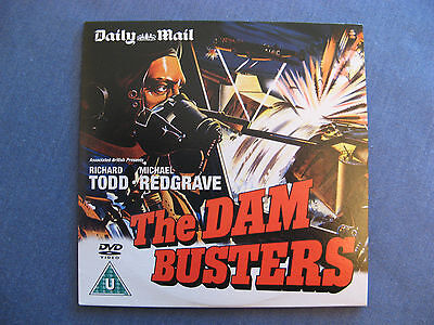 Daily Mail / The Dam Busters / Classic War Film / Richard Todd/ New /dvd/ww2 • 0.98£