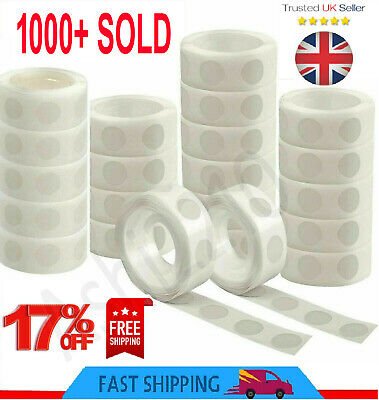 £2.59 • Buy 100 Adhesive Tape Double Sided Glue Sticky Dots Sticker DIY Balloon Clear Décor