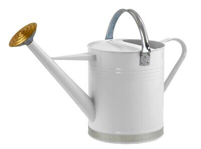 AU48.01 • Buy 9L Ambassador Outdoor House Plant Metal Watering Can Round Spray Rose Cream 2Gal