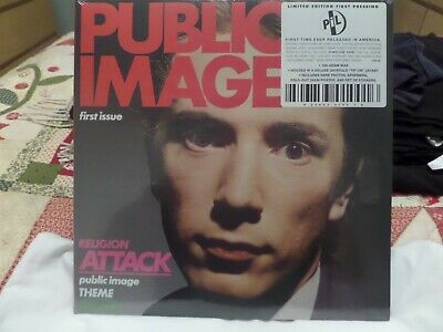Public Image Ltd P.i.l. First Issue 2013 Lp Usa Issue Still Sealed Sex Pistols  • 9.99£