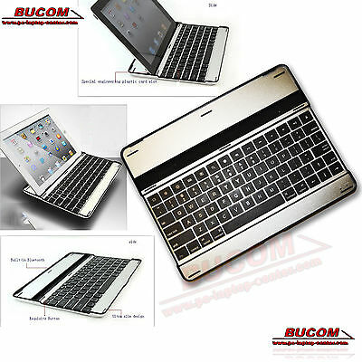 Mobile Bluetooth Keyboard UK English Keyboard For Tablet IPAD 2 3 4 And IPHONE • 13.81£