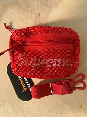 $ CDN95.69 • Buy Supreme SS20 Small Shoulder Bag Dark Red Reflective NWT