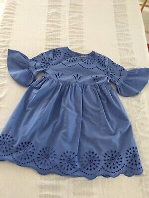 AU9.50 • Buy Zara Kids Size 8 Lovely Blue Dress