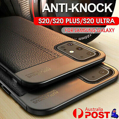 AU9.16 • Buy For Samsung Galaxy S21 S20 S10e Ultra Plus Luxury Leather Soft Rubber Case Cover