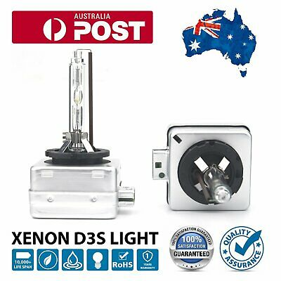 AU55.99 • Buy 2pc D3S Xenon White Bright HID Bulb Replacement For Osram Phillips 6000k 35W