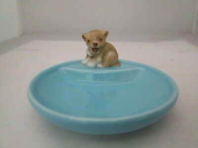 WADE TURQUOISE WHIMTRAY - FIRST WHIMSIE LION CUB - C1985  (REFS 47/26) • 3.99£