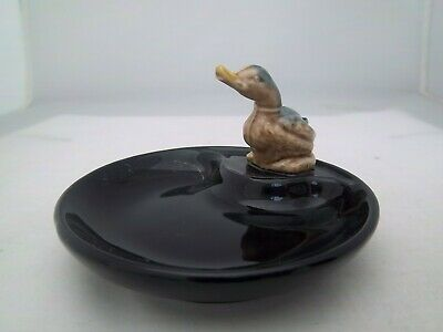 WADE BLACK WHIMTRAY - ENGLISH WHIMSIE DUCK - C1985  (REFS 47/29) • 3.99£
