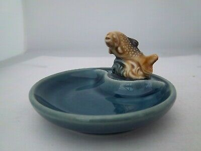 WADE SEA GREEN WHIMTRAY - ENGLISH WHIMSIE TROUT - C1985  (REFS 47/31) • 3.99£