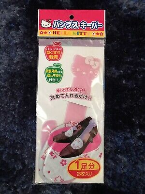 Cute Kawaii Hello Kitty Shoe Shape Holders With Deodorising Effect • 3.99£