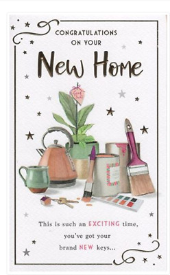 New Home Card Decorating Theme     Quality Card By IC&G 7719    FREE P&P • 2.99£