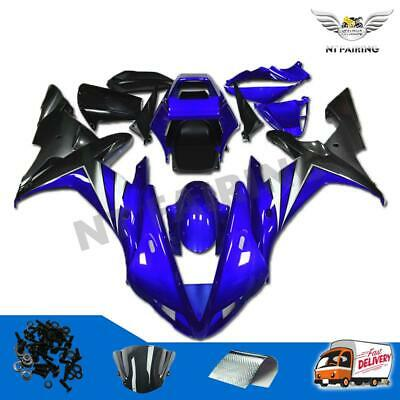 $569.99 • Buy Fairing Injection Mold  Fit For Yamaha 2002 2003 YZF R1 Blue New ABS Kit R005
