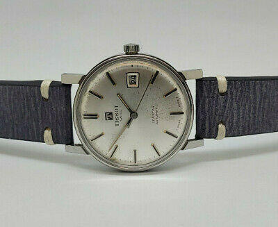 Used Vintage Tissot Seastar Silver Dial Date Automatic Man's Watch • 175£