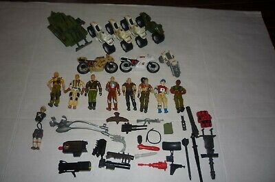 $ CDN44.99 • Buy Gi Joe Gijoe Lot 6 Figures 3 Vehicle & Accessories Loose Original 1985 Hasbro