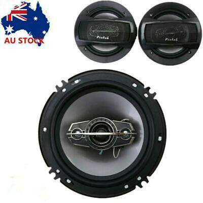 AU40.43 • Buy 6  350W 4 Way Car Audio Subwoofer Coaxial Rear Stereo Speakers Set Of 2
