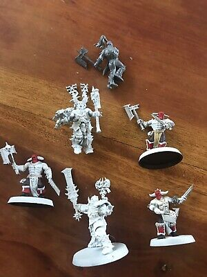 AU9.50 • Buy Warhammer Age Of Sigmar Chaos Army Blades Of Khorne Project / Bits Lot GW Models