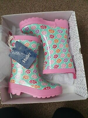 Brand New Hatley Flower Wellies Kids Size UK 10 • 8£