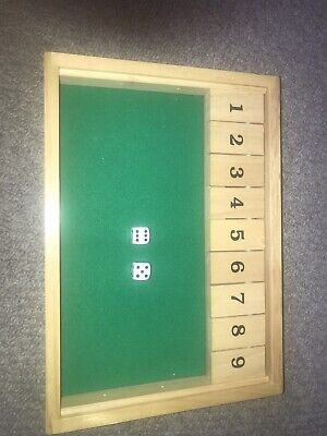 £3.80 • Buy Shut The Box Game