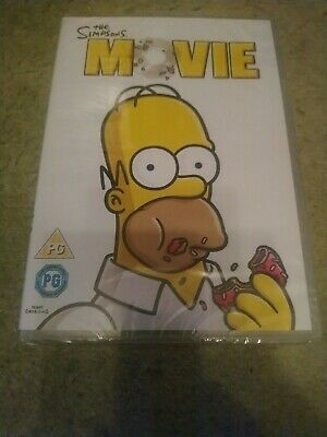 The Simpsons Movie DVD New And Sealed • 1.25£