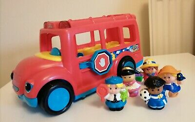 Fisher Price Little People Red Bus • 2.50£