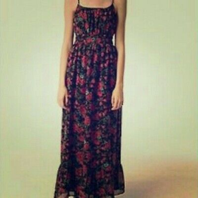 $ CDN40 • Buy Anthropologie Pins And Needles Maxi Floral Dress, Small