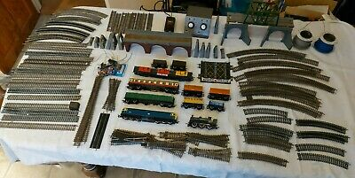 Hornby Complete Train Set Icluding Trains And Track • 112£
