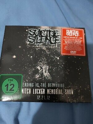 Suicide Silence Ending Is The Beginning Limited Edition Cd/Dvd Mitch Kicker... • 6£