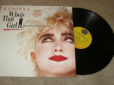 Madonna - Who's That Girl Soundtrack - Original Sire Label - Lp Record • 6.99£